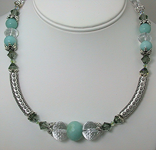 Amazonite and Bali Silver
