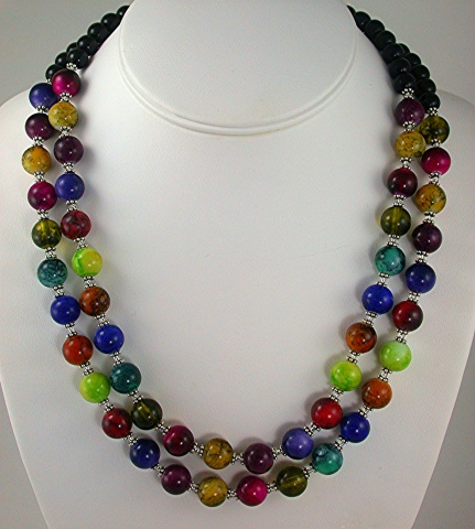 Multi-color Glass Beads