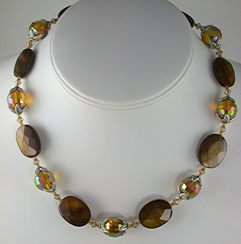 Faceted Shell & Crystal