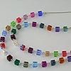 Double Strand Rainbow Crystal Cube