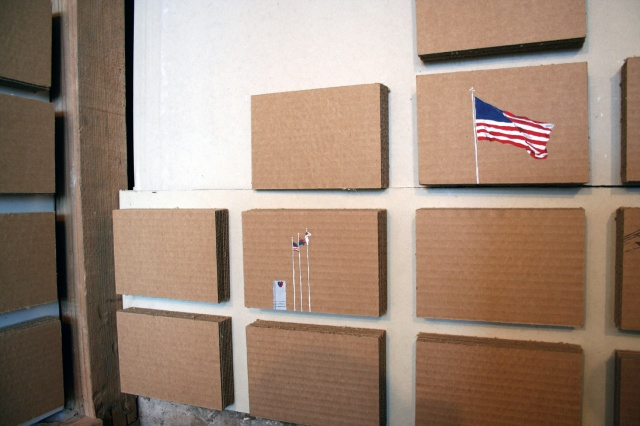 95 Flags and Counting, 2007 to Present (installation)