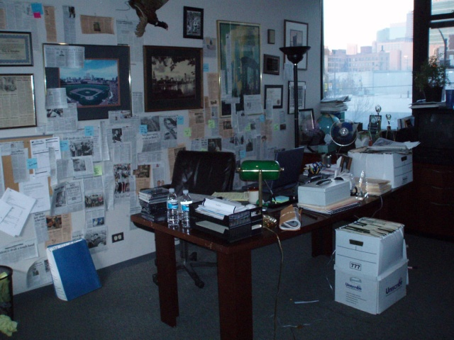 News Editor office