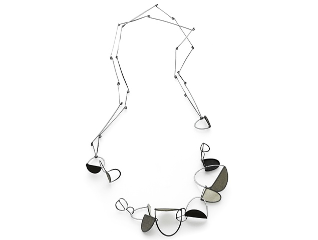 Crease Series II Necklace with detachable bracelet