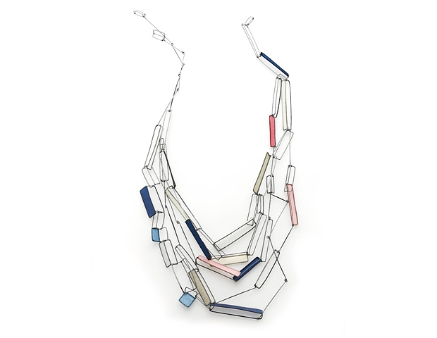 Ascending Series III contains Ascending Series I Necklace and the Ascending Series Necklace/Bracelet