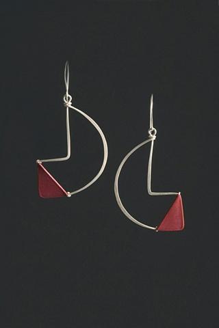 tia kramer paper jewelry earrings
