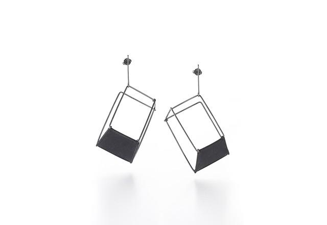 Shift Earrings (Single Panel)