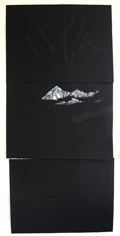 Untitled (Black Triptych)
