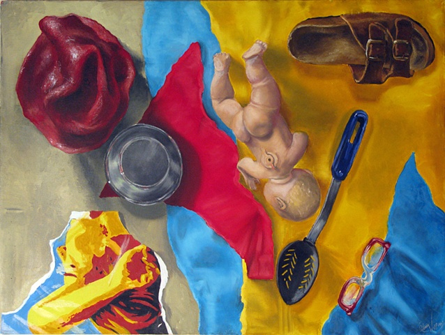 Painting Color: Found Object Still Life