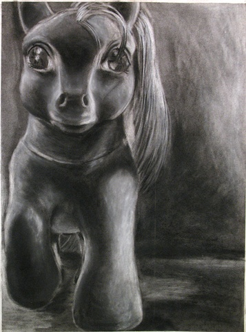 MLP: Charcoal Drawing