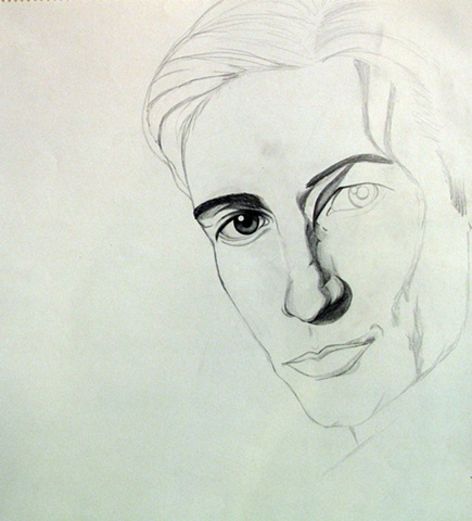 Magazine Sketch: David Duchovny