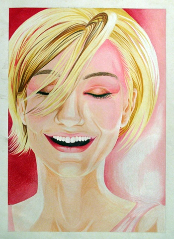 Magazine Drawing: Cameron Diaz