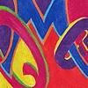 Color Study: Initials