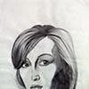 Magazine Sketch: Gillian Anderson