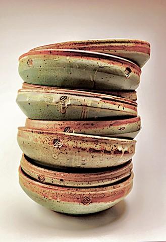Flat bowls