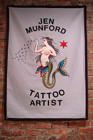 Commissioned Banner for Jen Munford Ann Arbor, MI