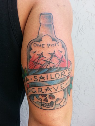 SAILOR JERRY BOTTLE