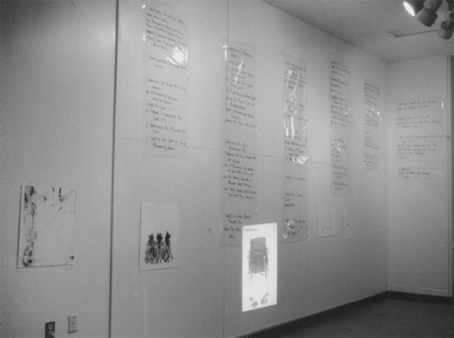 exhibiting symptoms installation view 1