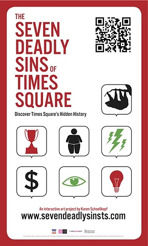 the seven deadly sins of times square (poster)