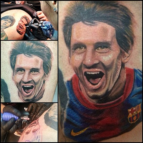 Lionel Messi Portrait