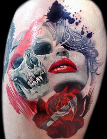 Tattoo Styles Trash Polka