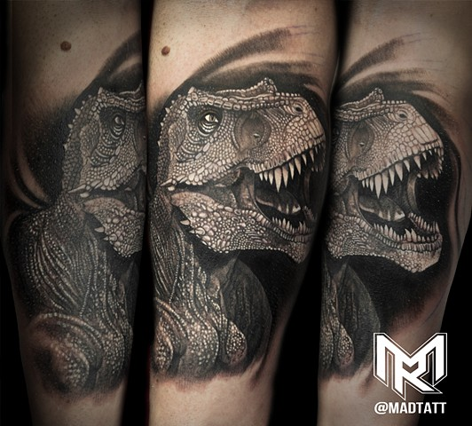 Awesome T-Rex Tattoo