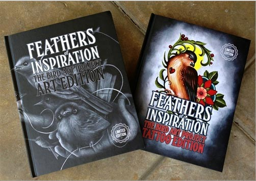FEATHERS OF INSPIRATION - OUT OF STEP BOOKS