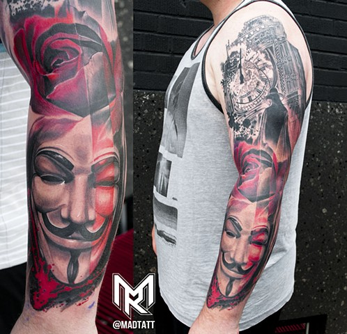 V for Vendetta Fresh Vs Healed