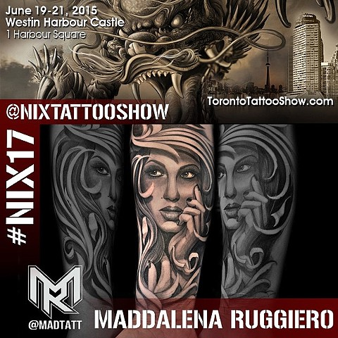 TORONTO TATTOO EXPO - NIX 17