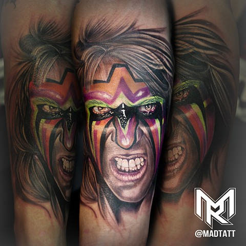 Ultimate Warrior Tattoo