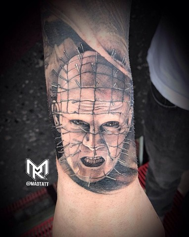 Pin Head from Hellraiser