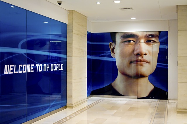 Celebrity Portrait: Yao Ming (The Place, Beijing)