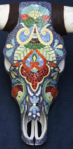 """Luis"" - Talavera skull"