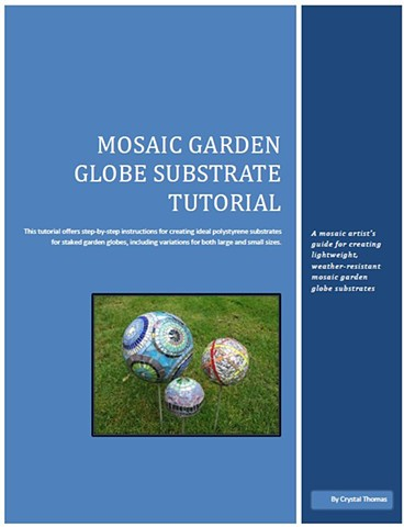 Online garden mosaic substrate tutorial in downloadable PDF form