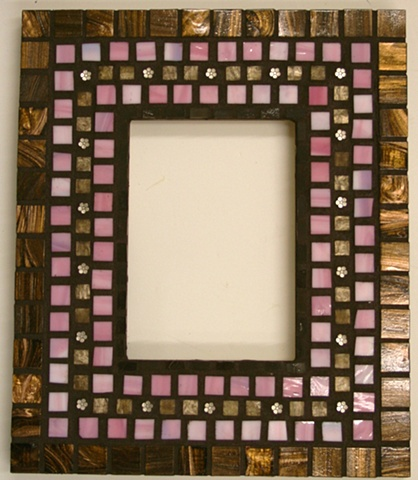 Completed student frame - Brandi