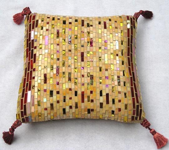 Sweet Deception - Mosaic pillow (back)