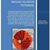 Mosaic Flower Tutorial