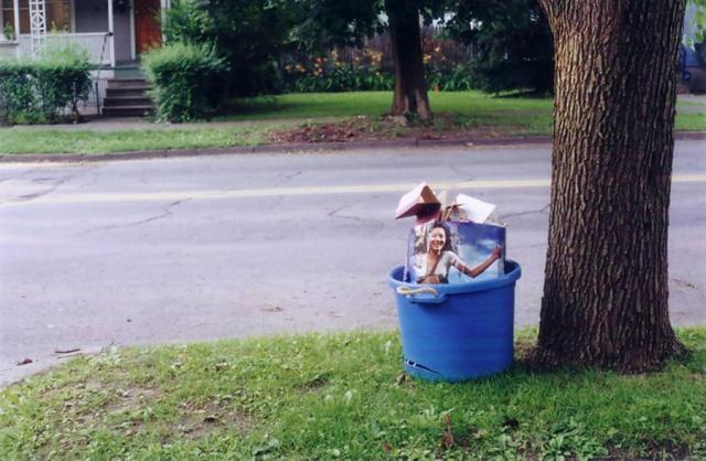 Recycling.  Ithaca, NY.