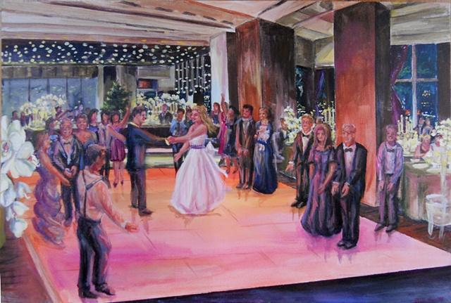 Craig and Brooke's Wedding at the Riverpark Apella, NYC