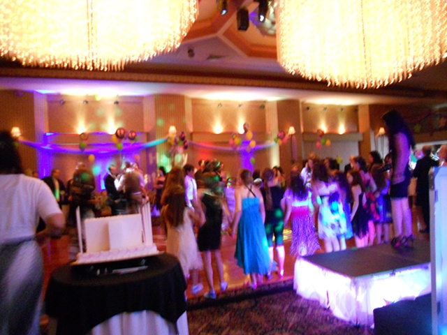 Gabrielle's bat mitzvah party site (East Meadow Jewish Center)