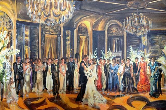 Greek wedding Reception at the Waldorf Astoria, NYC