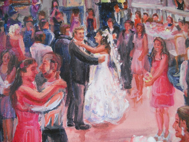 Jen and Alex's Wedding  (detail)