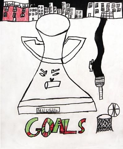 """Goals,"" By Malik Padilla"