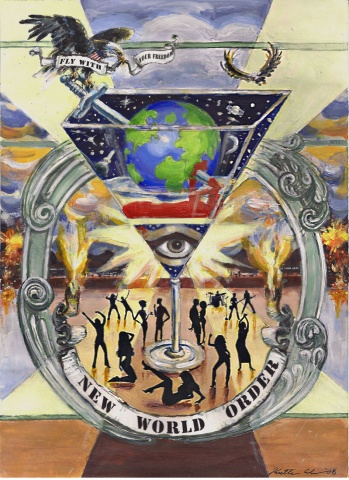 New World Order Poster/CD/logo graphic