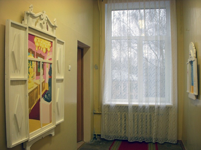 View of back hallway
