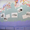 """Mural in Krasnoyarsk: """"Ideal Krasnoyarsk"""""""