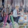 Virginia and Ronen's anniversary painting