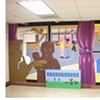 """Our Safe Haven,"" photo collage of entire mural"