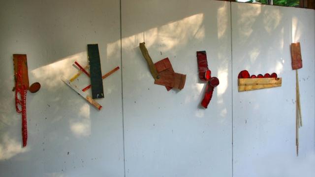 Untitled (Wedge Series Installation)