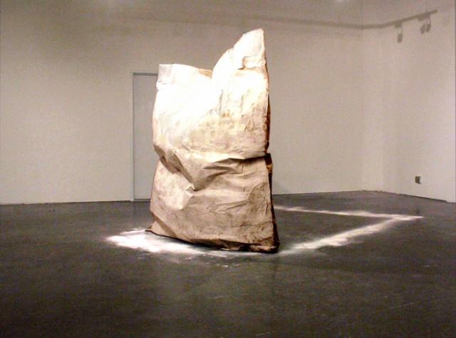 Untitled (Sugar Monolith)