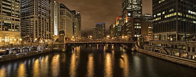 Clark Street Bridge Chicago, IL